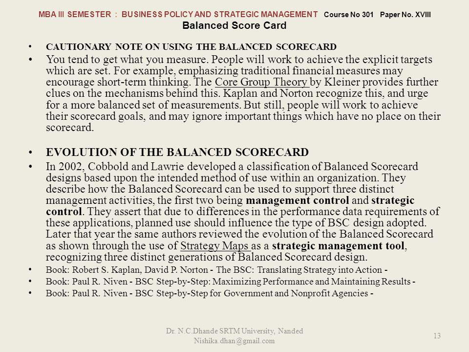 Dr. N.C.Dhande SRTM University, Nanded Nishika.dhan@gmail.com