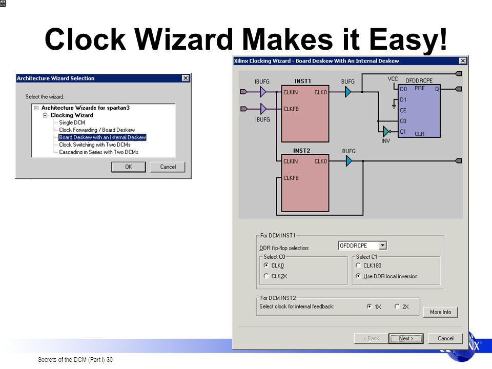 Clock Wizard Makes it Easy!