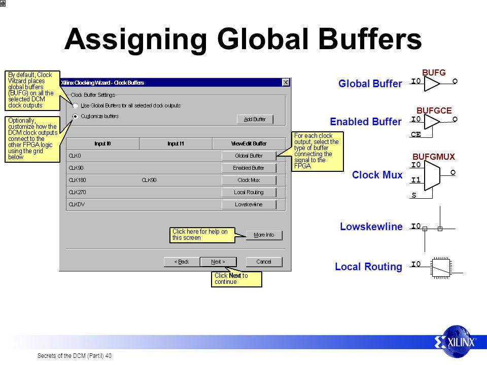 Assigning Global Buffers