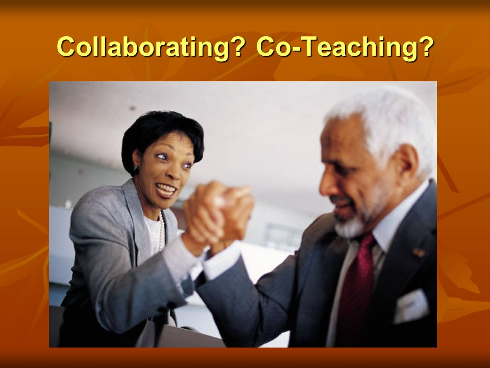 Collaborating Co-Teaching