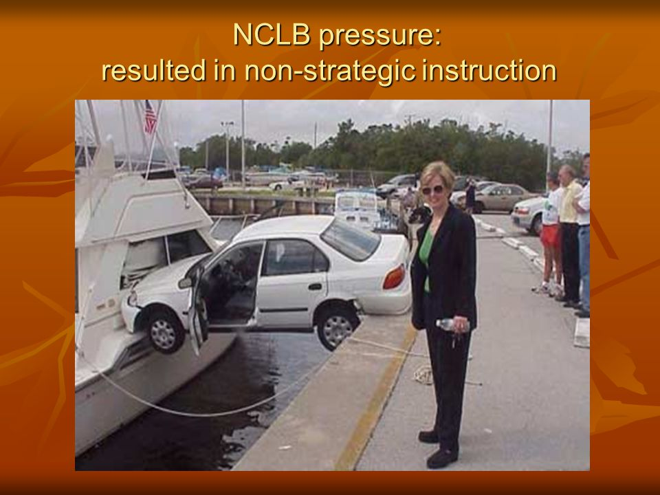 resulted in non-strategic instruction