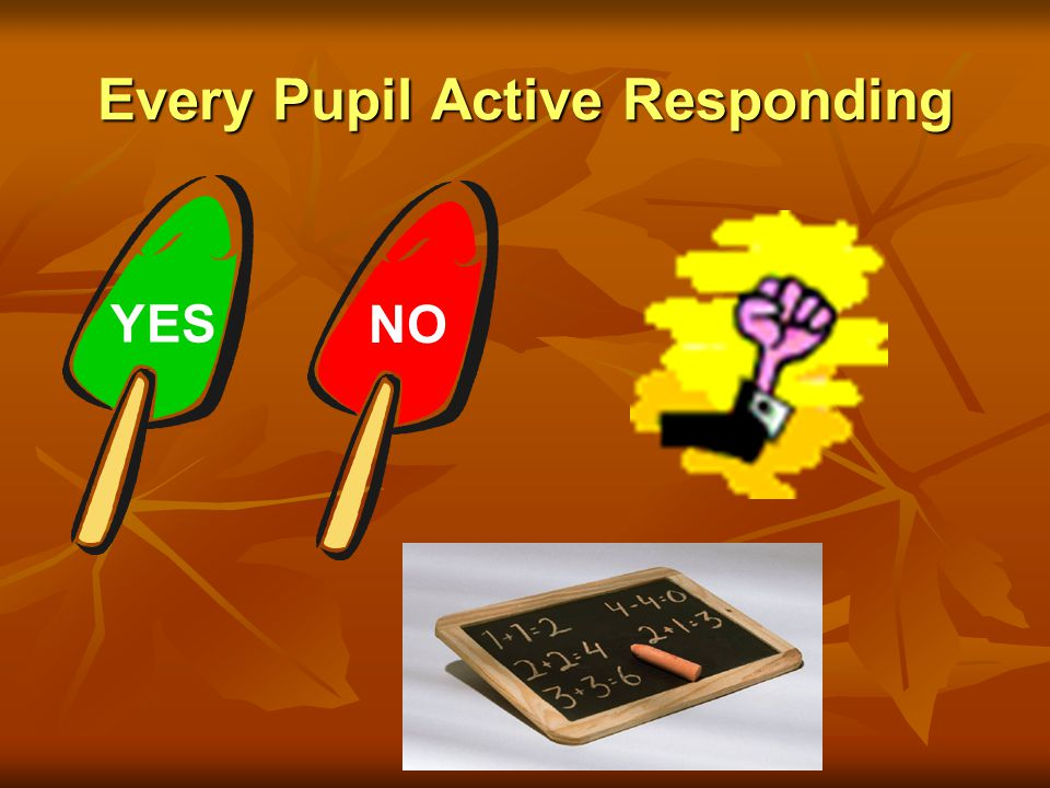Every Pupil Active Responding