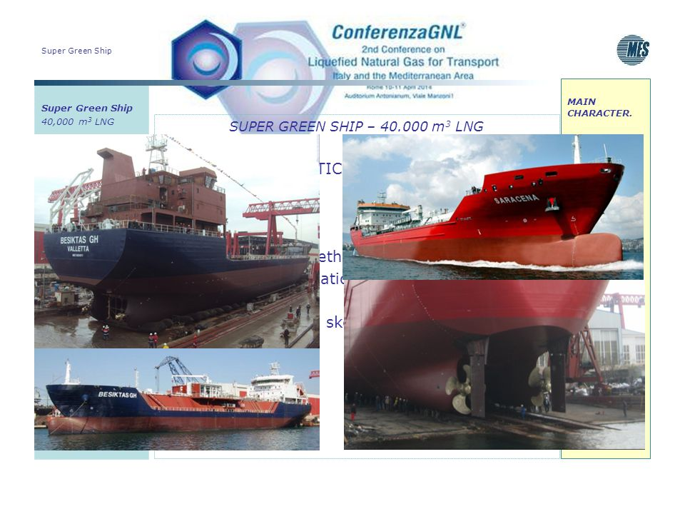 Insulation: poliurethane Onboard regasification plant unit