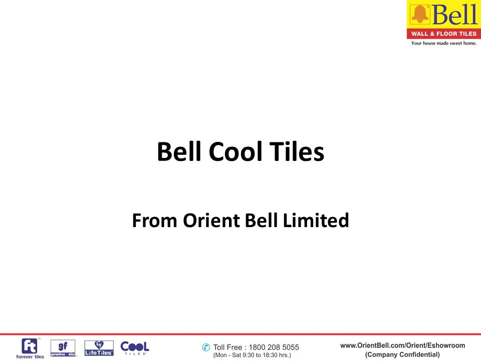 From Orient Bell Limited