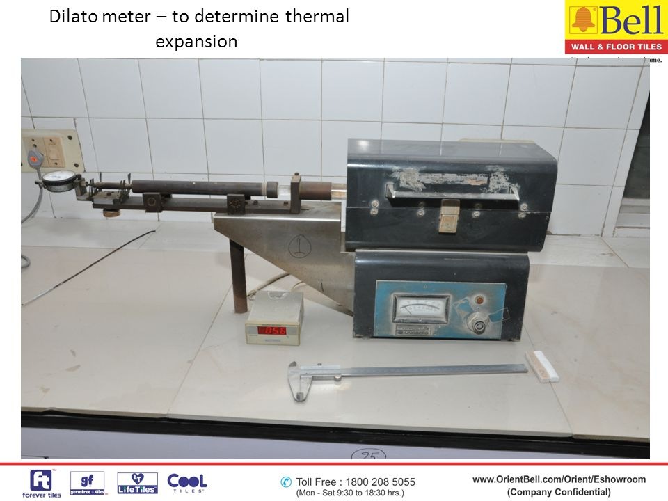 Dilato meter – to determine thermal expansion