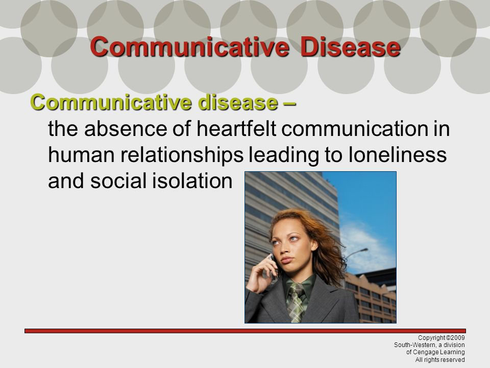 Communicative Disease