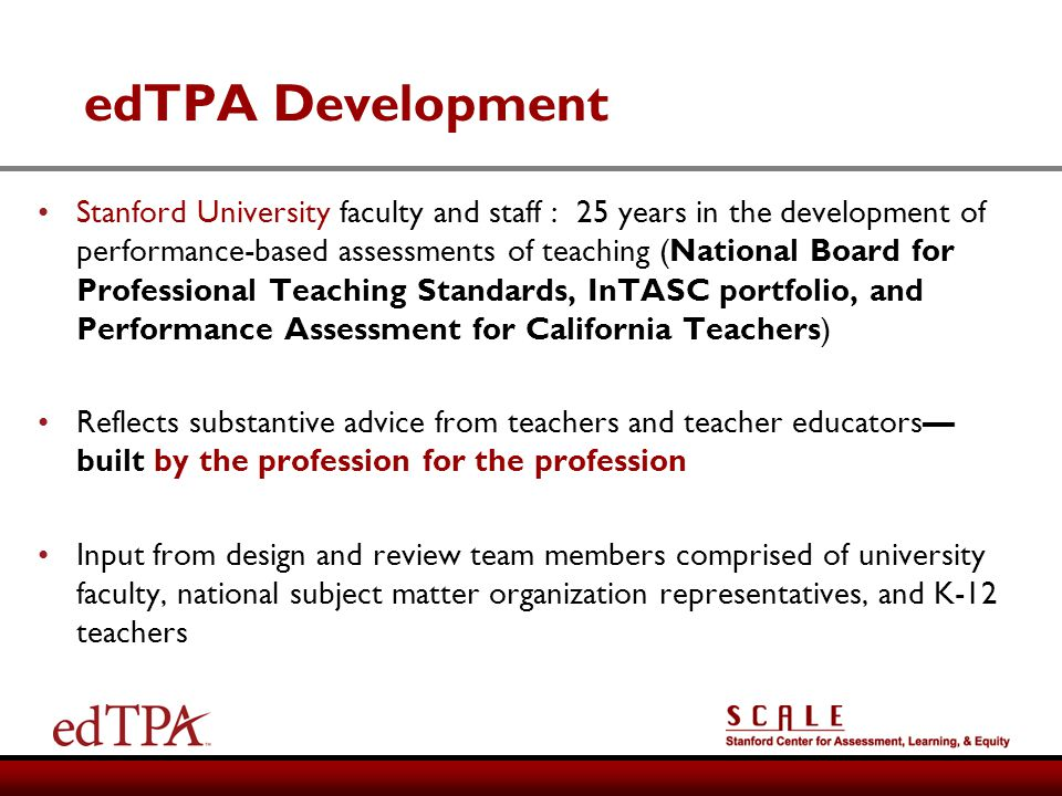 edTPA Development