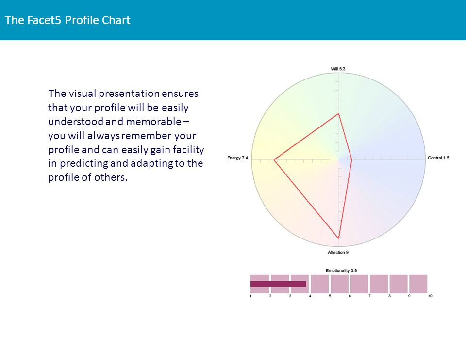 The Facet5 Profile Chart
