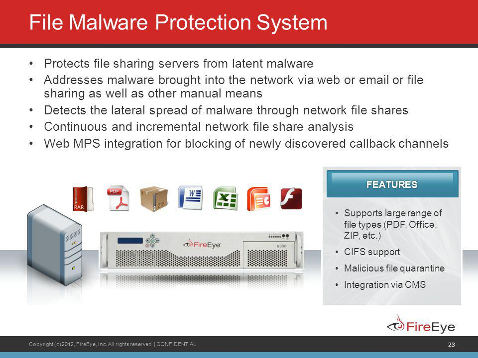 File Malware Protection System