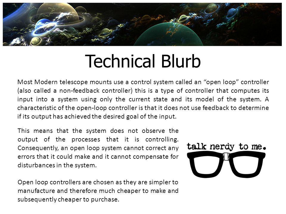 Technical Blurb