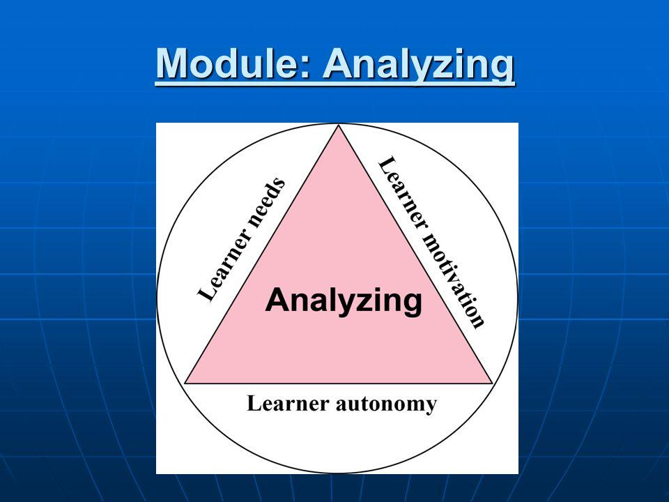 Module: Analyzing