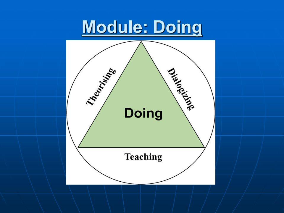 Module: Doing
