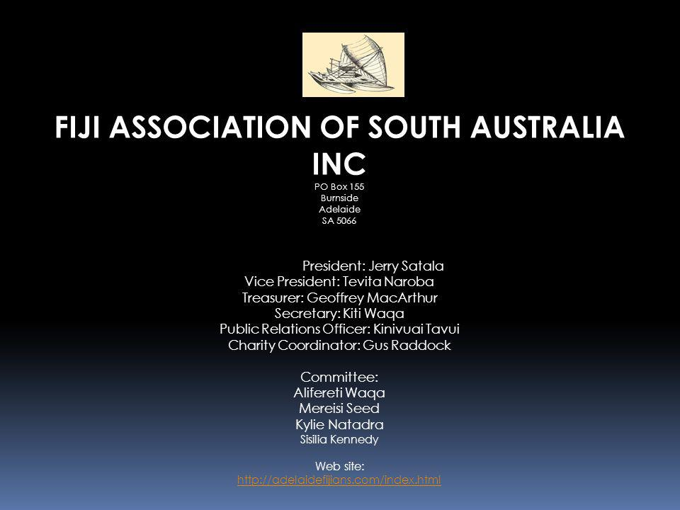 FIJI ASSOCIATION OF SOUTH AUSTRALIA INC