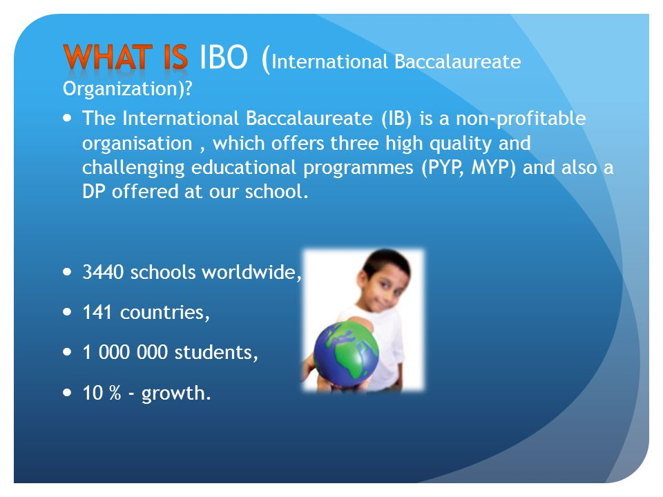 What is IBO (International Baccalaureate Organization)