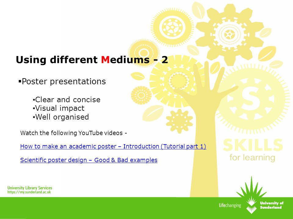 Using different Mediums - 2