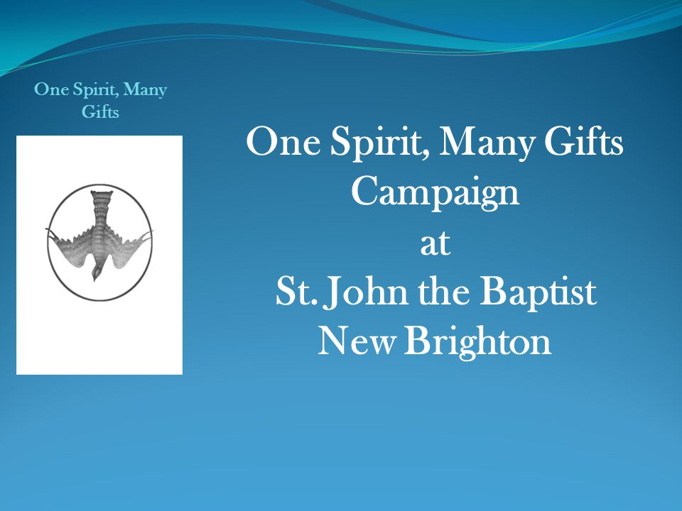 One Spirit, Many Gifts Campaign