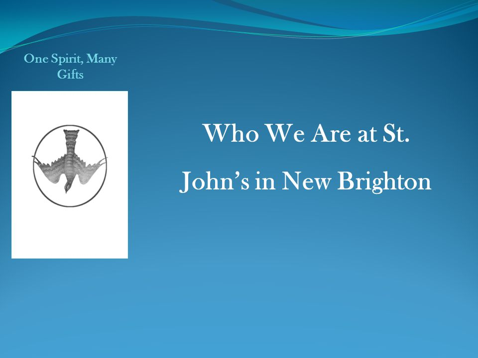 Who We Are at St. John's in New Brighton
