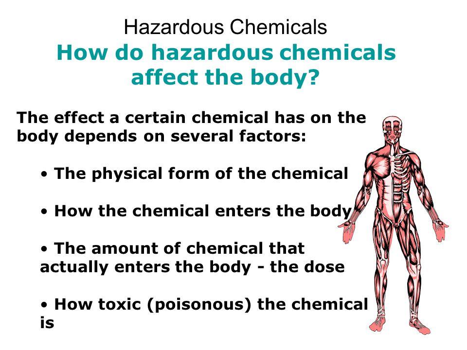 How do hazardous chemicals