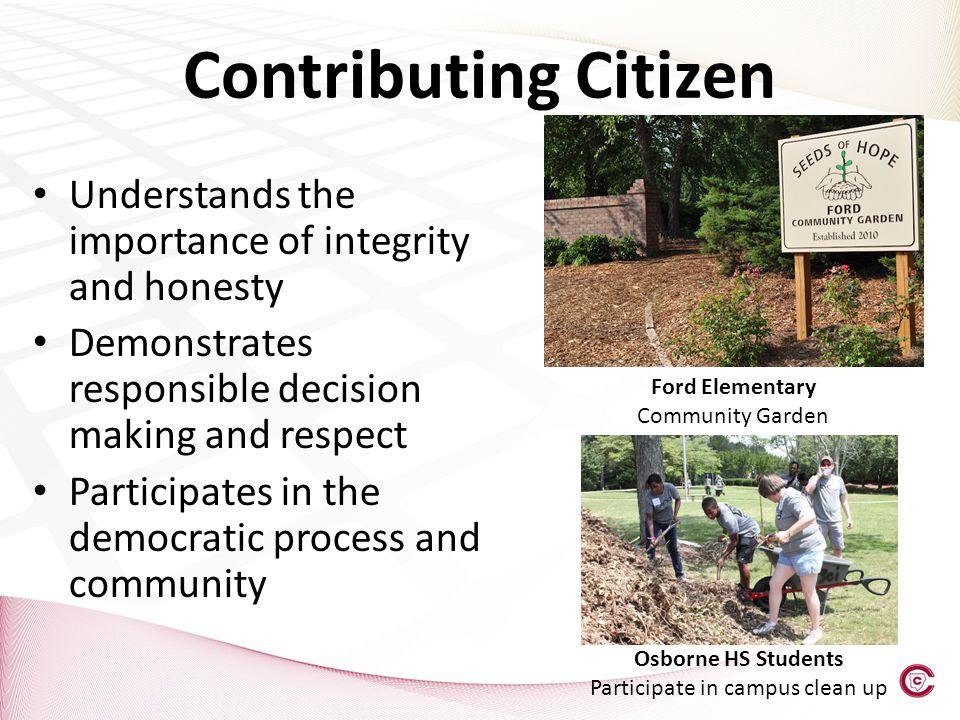 Participate in campus clean up