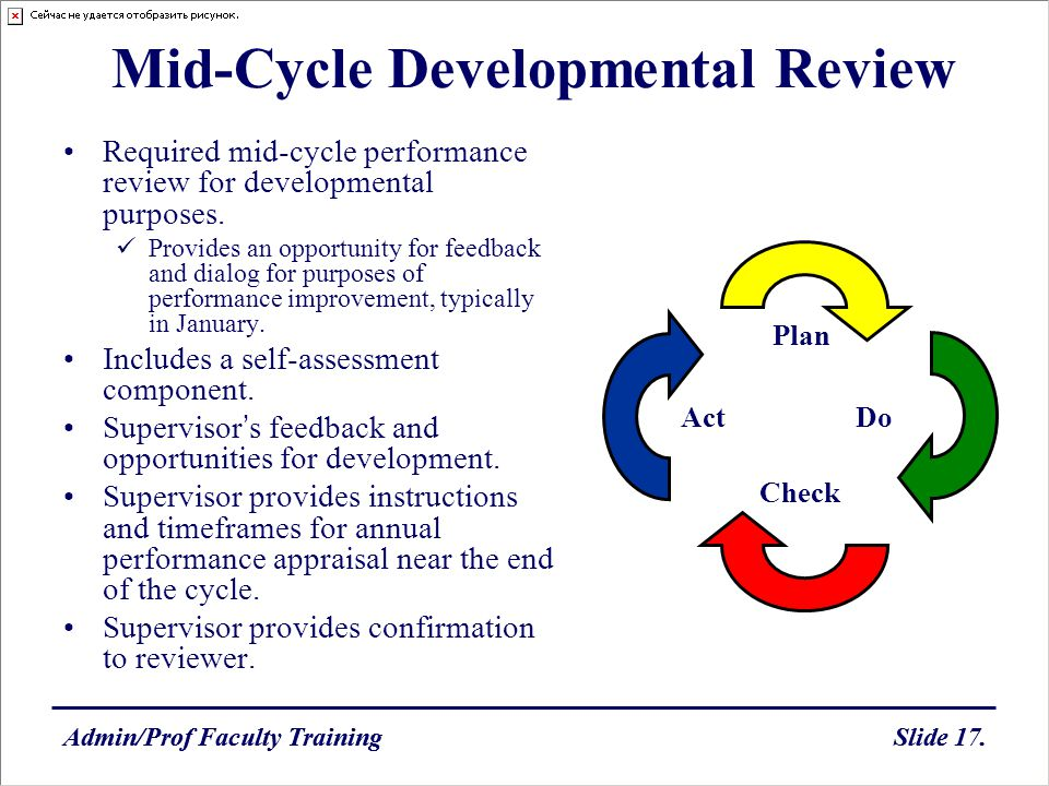 Mid-Cycle Developmental Review