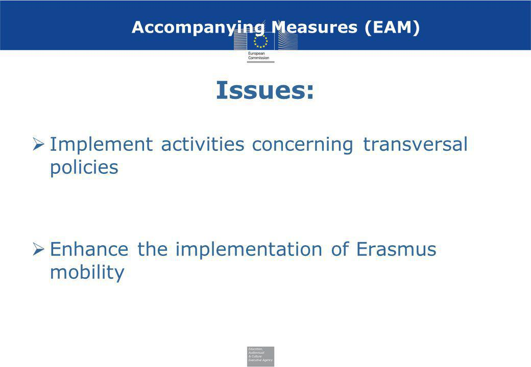 Accompanying Measures (EAM)