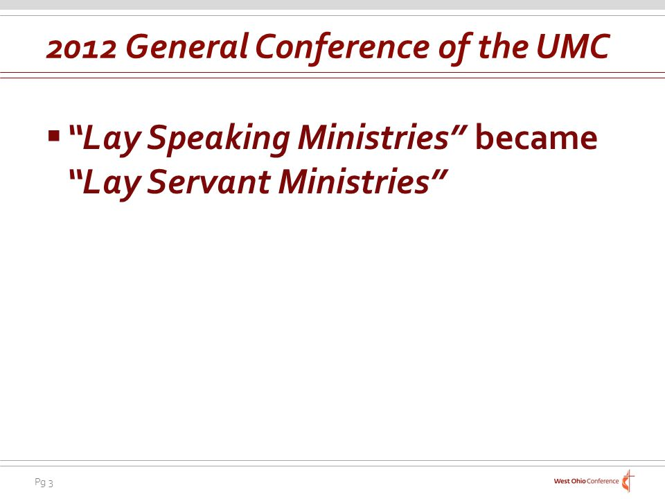 2012 General Conference of the UMC