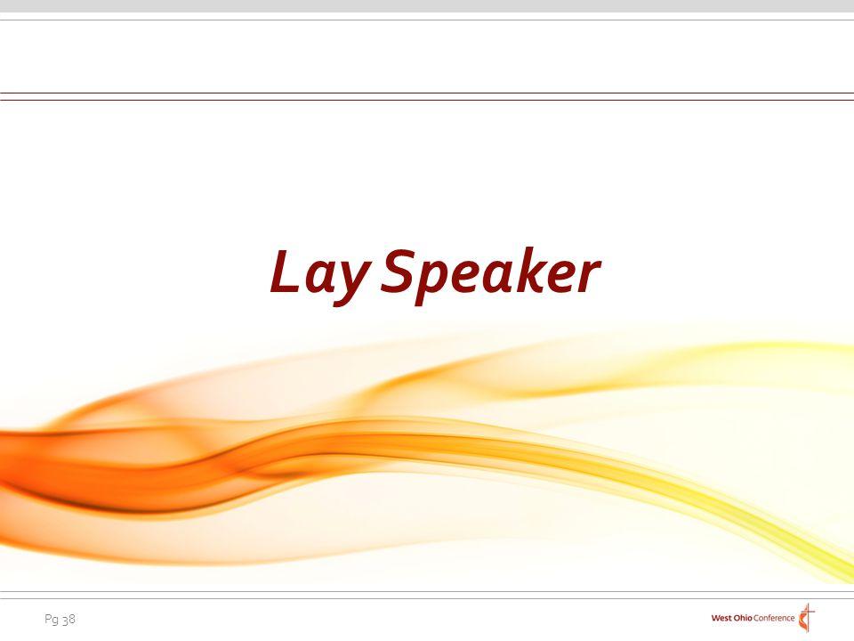 Lay Speaker