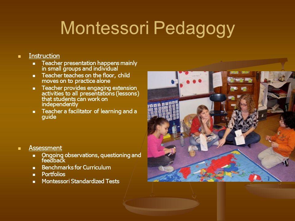 Montessori Pedagogy Instruction Assessment
