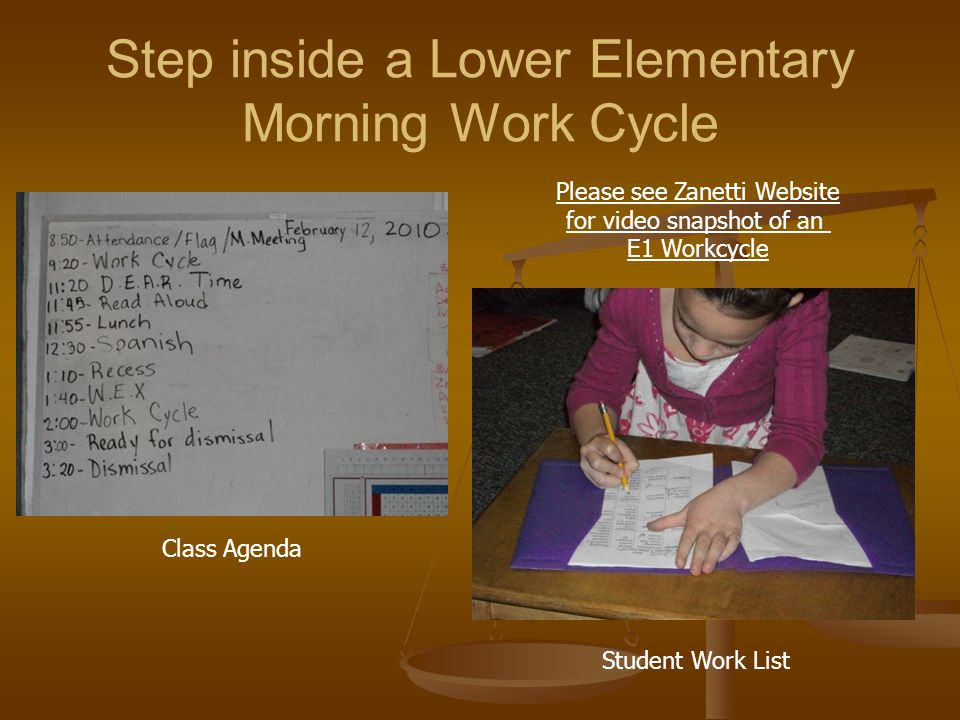 Step inside a Lower Elementary Morning Work Cycle