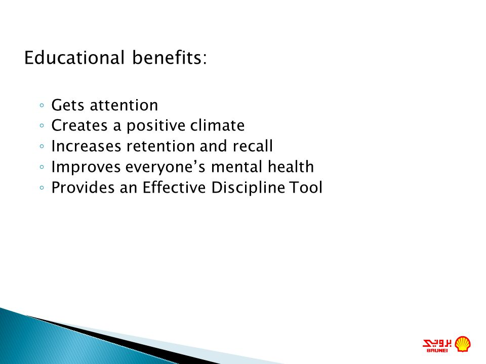 Educational benefits: