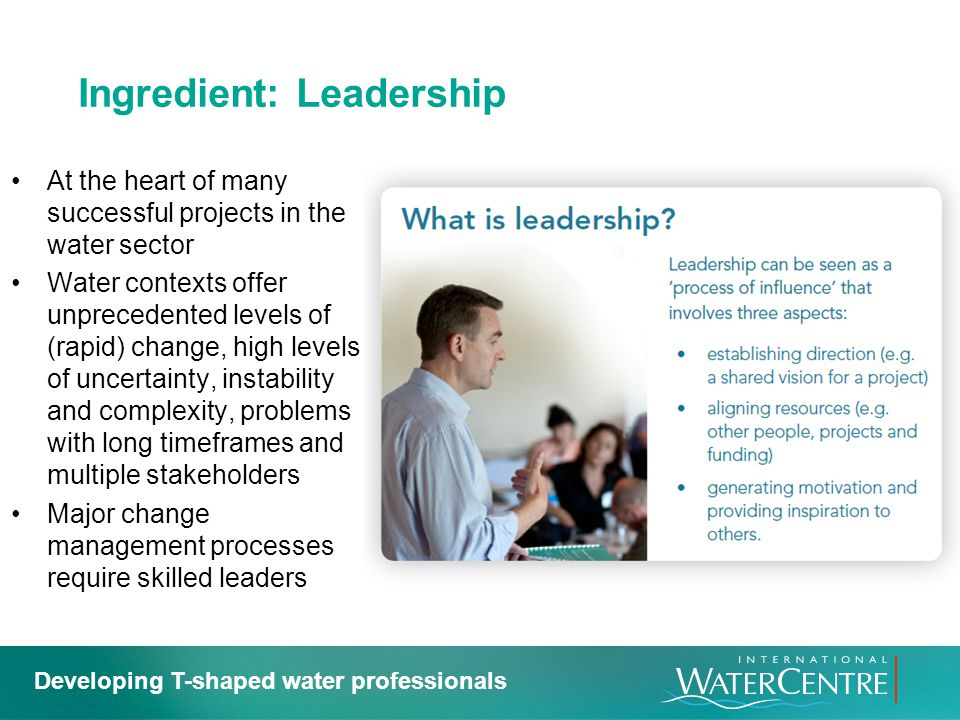 Ingredient: Leadership