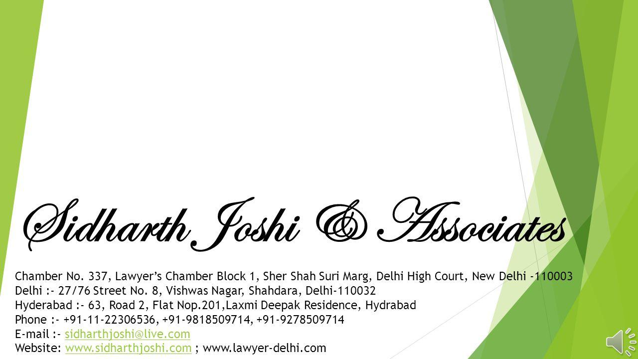 Sidharth Joshi & Associates