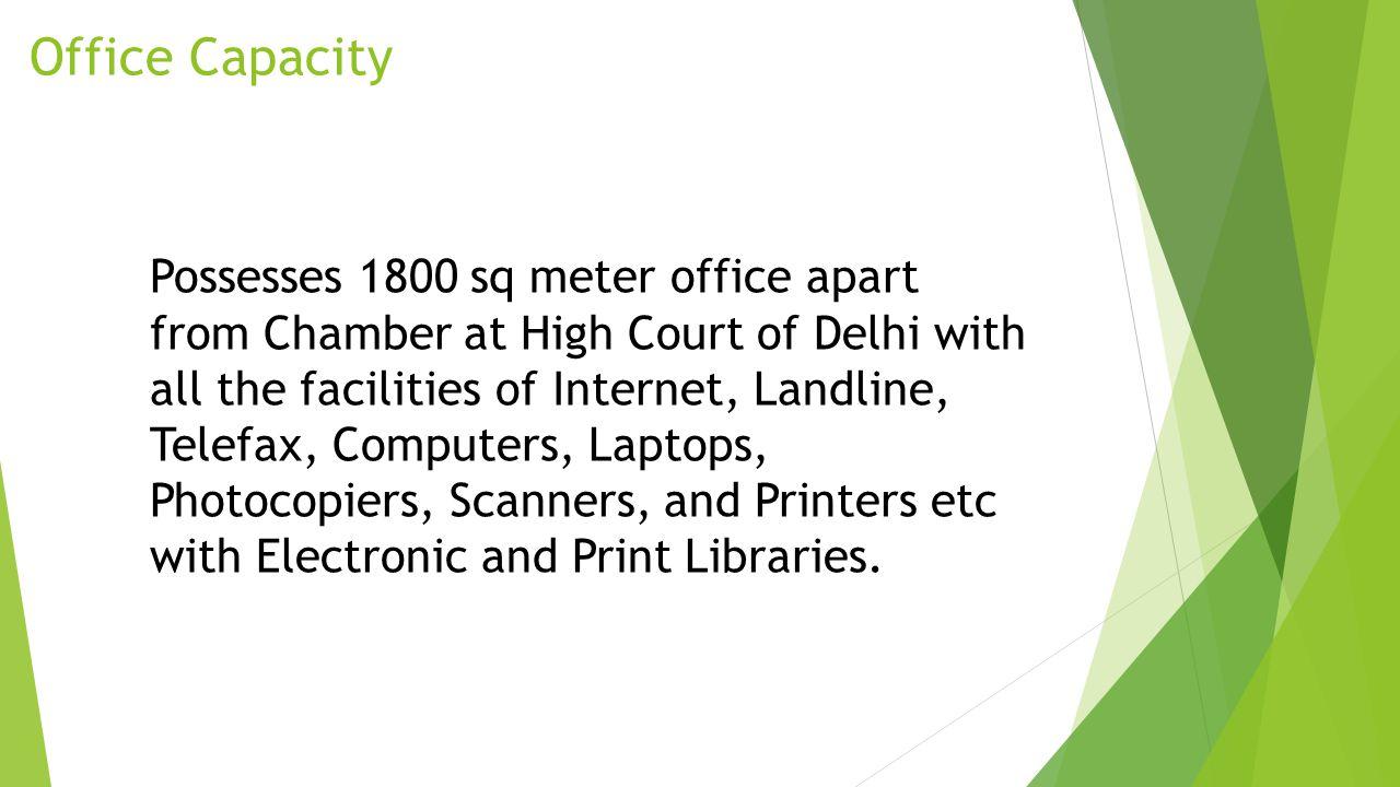 Office Capacity