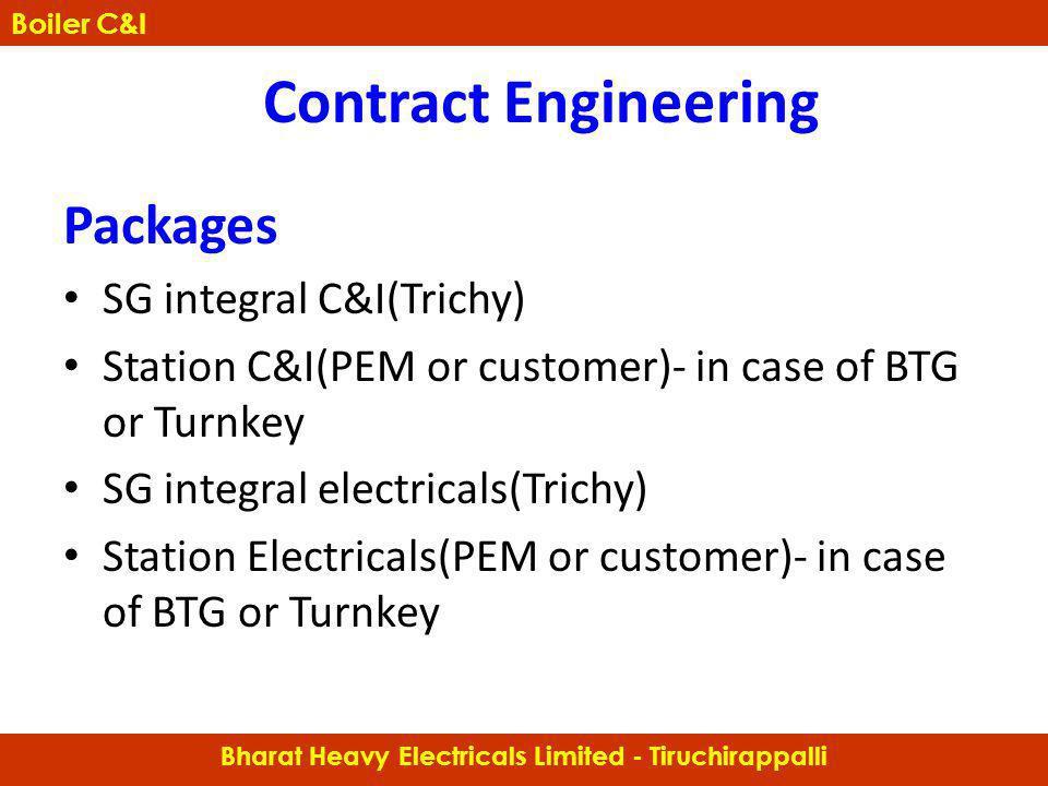 Bharat Heavy Electricals Limited - Tiruchirappalli