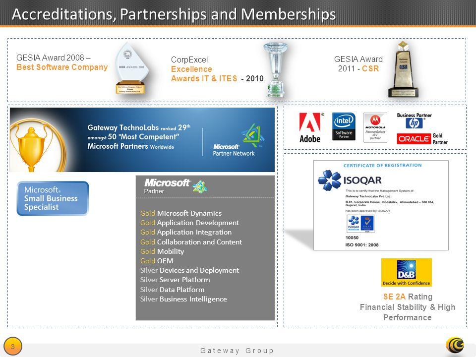 Accreditations, Partnerships and Memberships