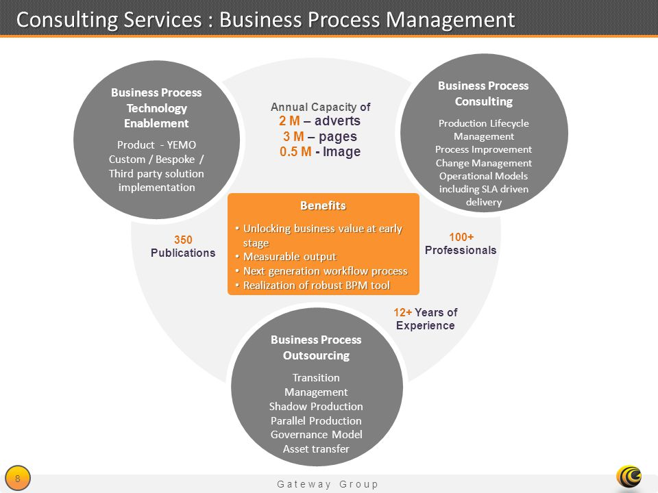 Consulting Services : Business Process Management