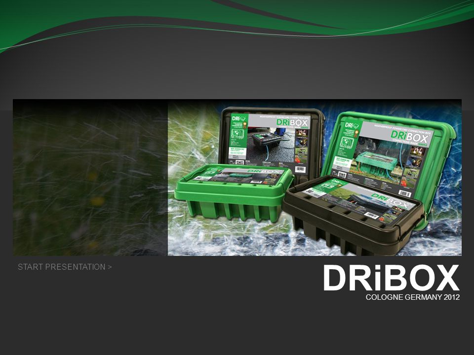 DRiBOX DRiBOX WEATHERPROOF POWERCORD CONNECTION BOX
