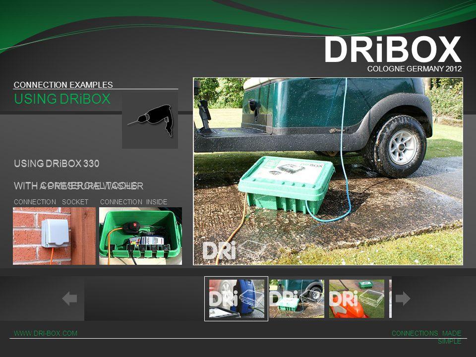 DRiBOX USING DRiBOX USING DRiBOX 330 USING DRiBOX 330