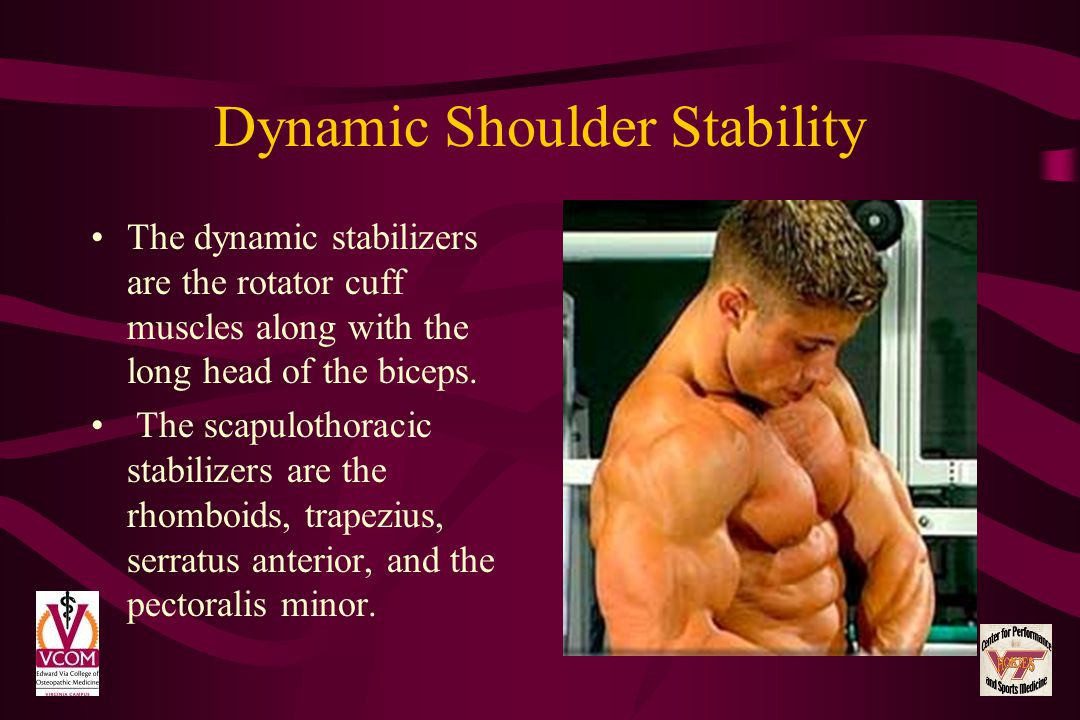 Dynamic Shoulder Stability