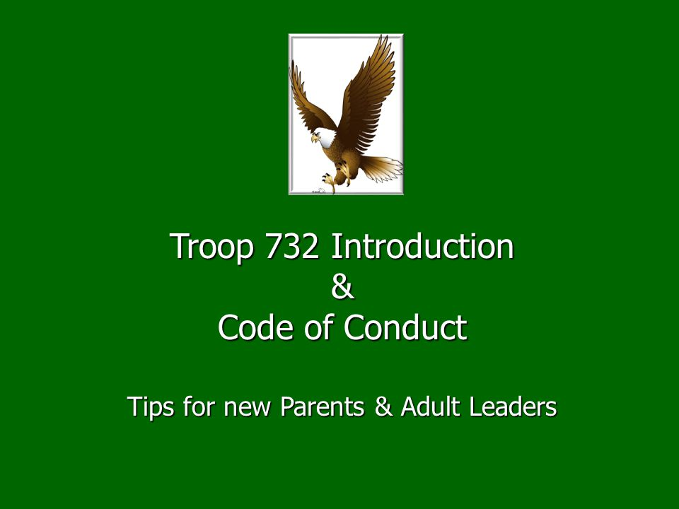 Tips for new Parents & Adult Leaders