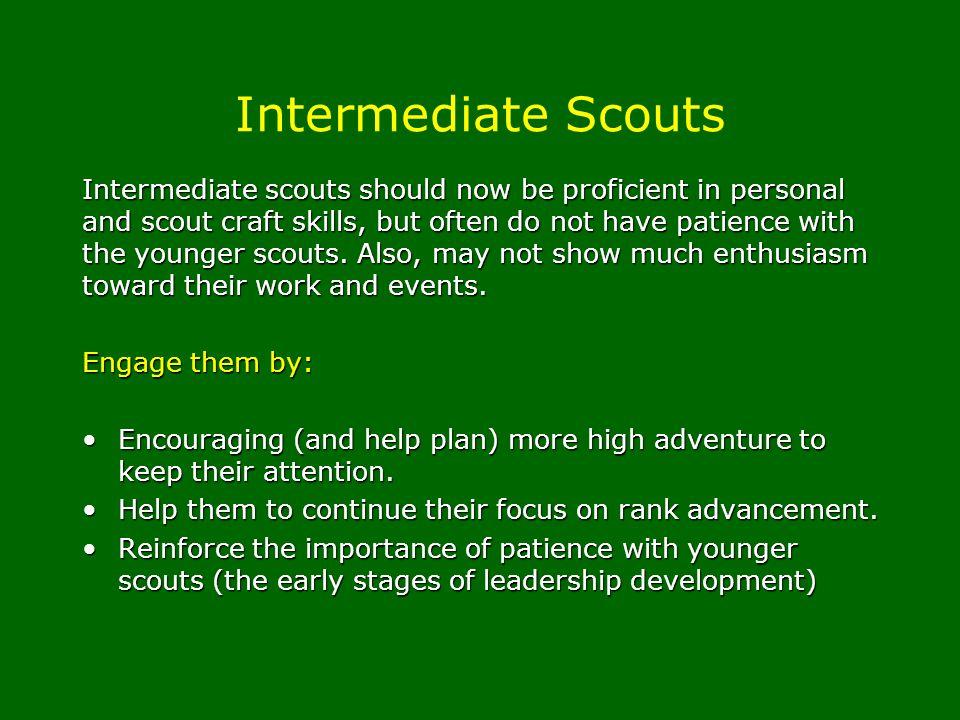 Intermediate Scouts