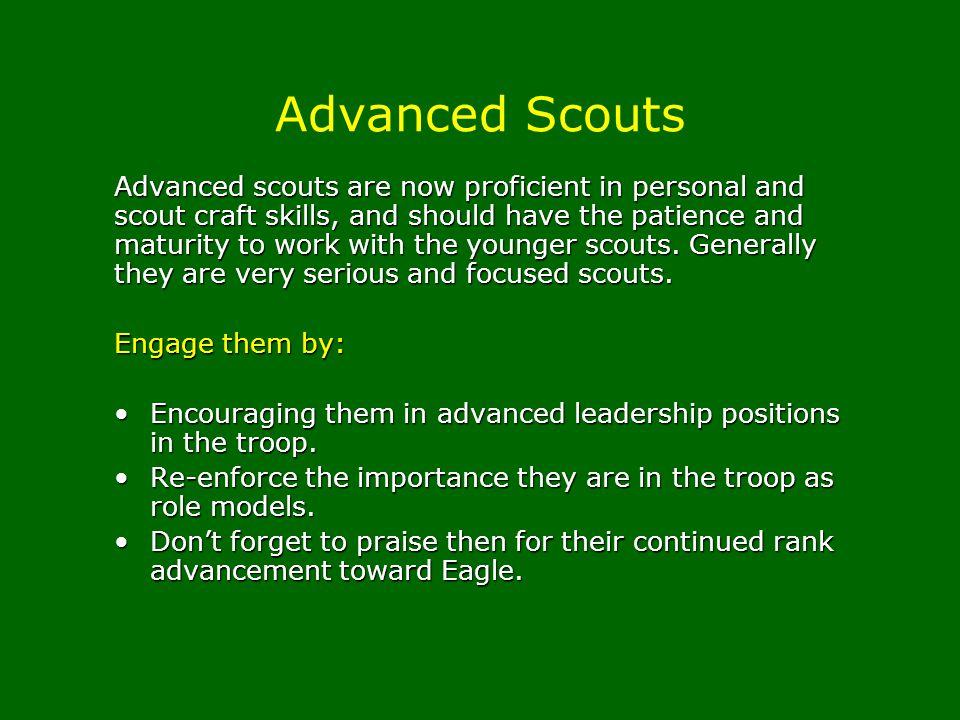 Advanced Scouts