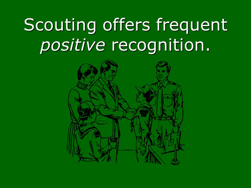 Scouting offers frequent