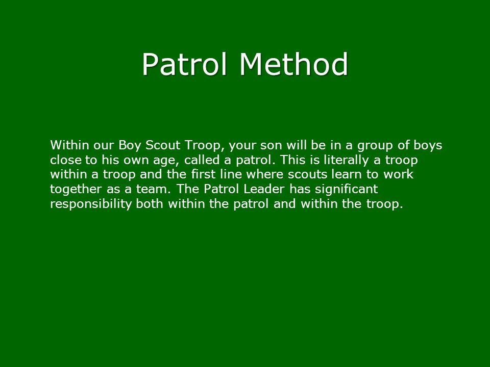 Patrol Method