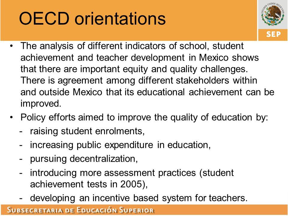 OECD orientations