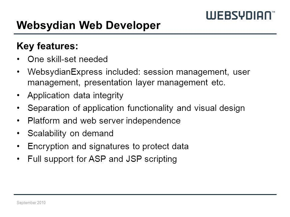 Websydian Web Developer