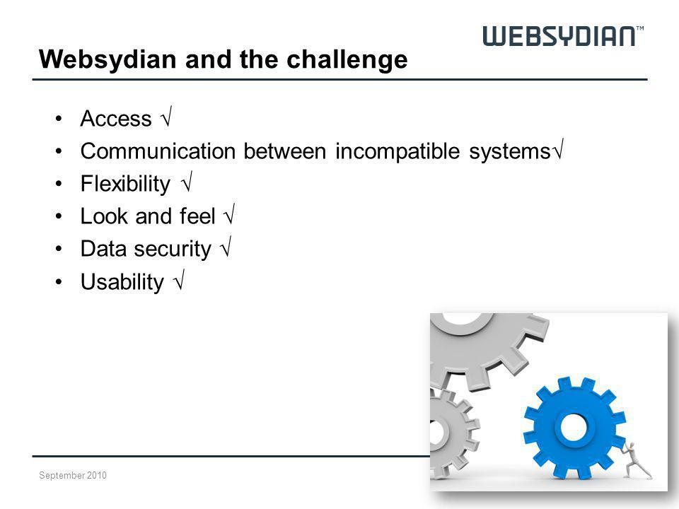 Websydian and the challenge