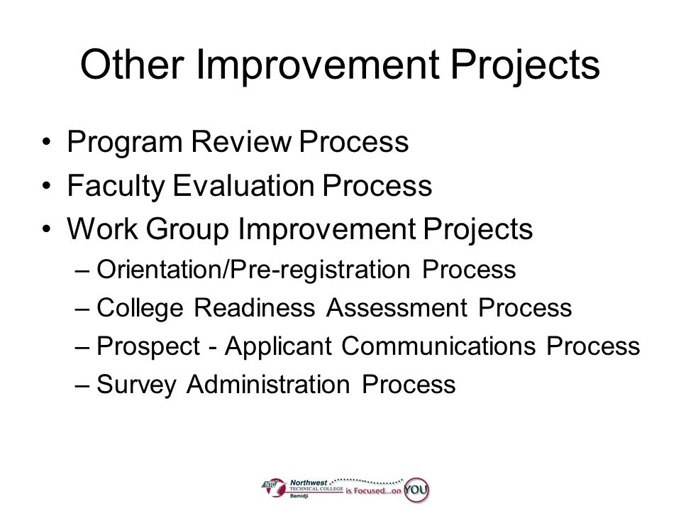 Other Improvement Projects