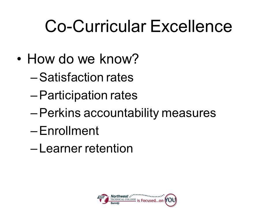 Co-Curricular Excellence