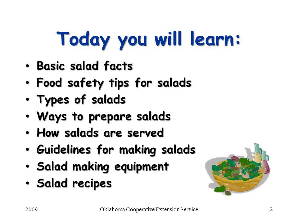 Healthy Living A-Z: Salad Essentials